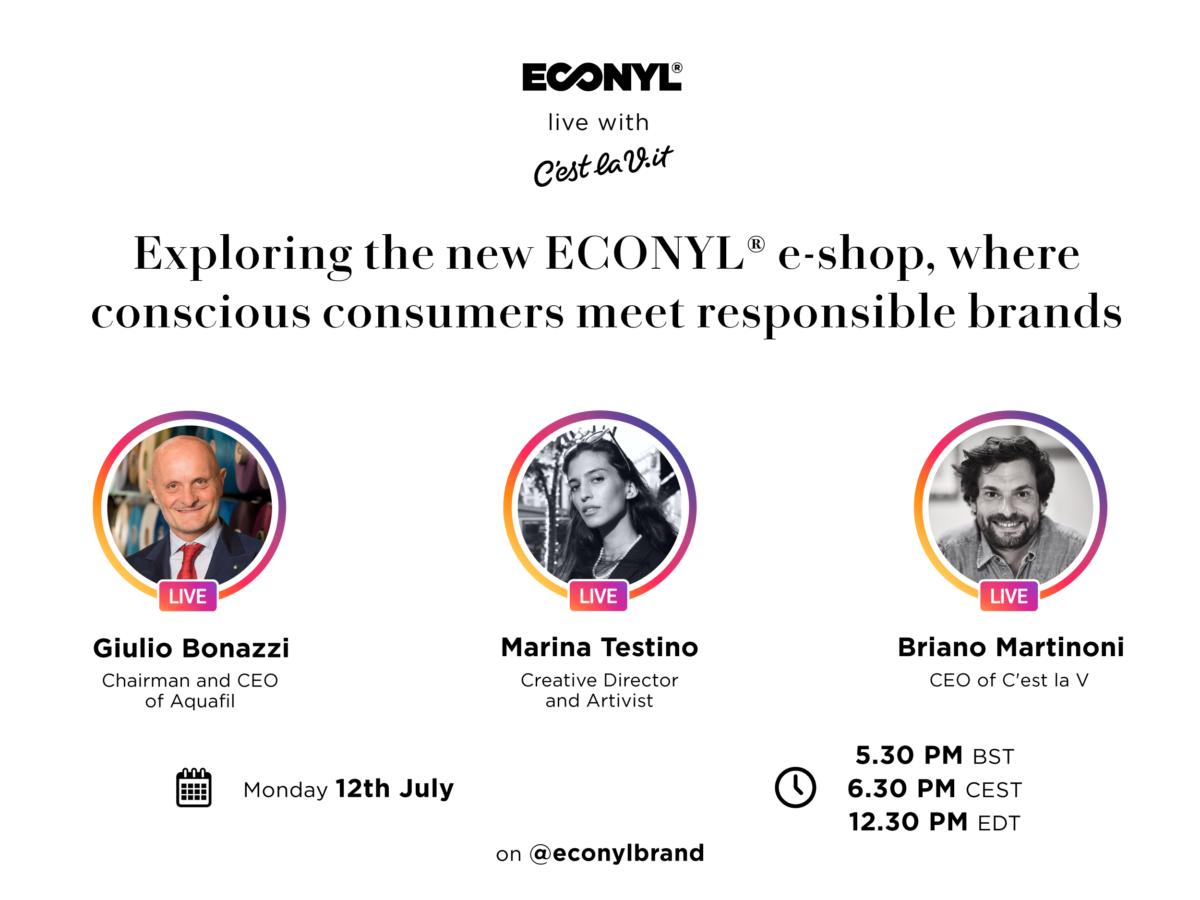 IG Live ECONYL® 14.07.2021