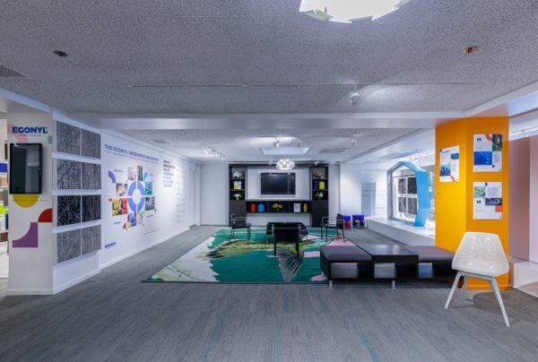 noho at Aquafil ECONYL® NeoCon showroom 2021