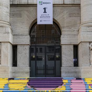 Radici admission ceremony on AIM Italia on the Milan Stock Exchange
